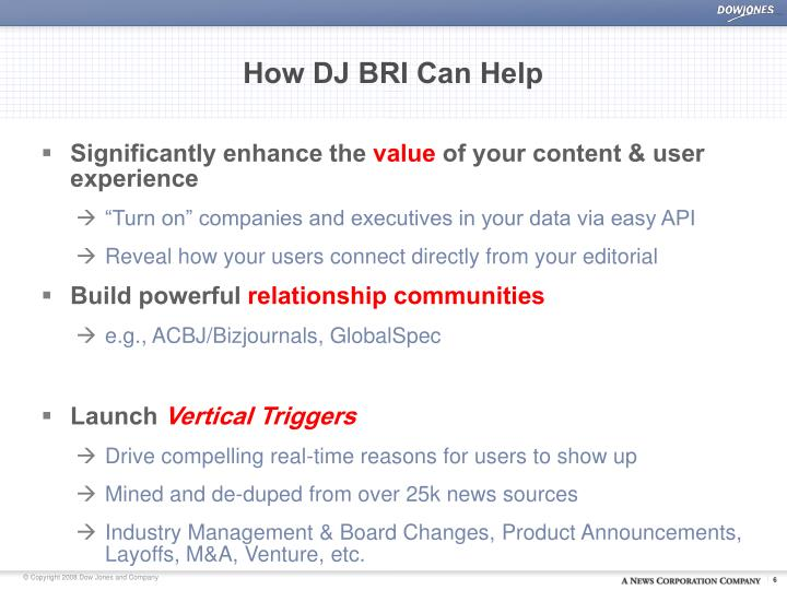 How DJ BRI Can Help