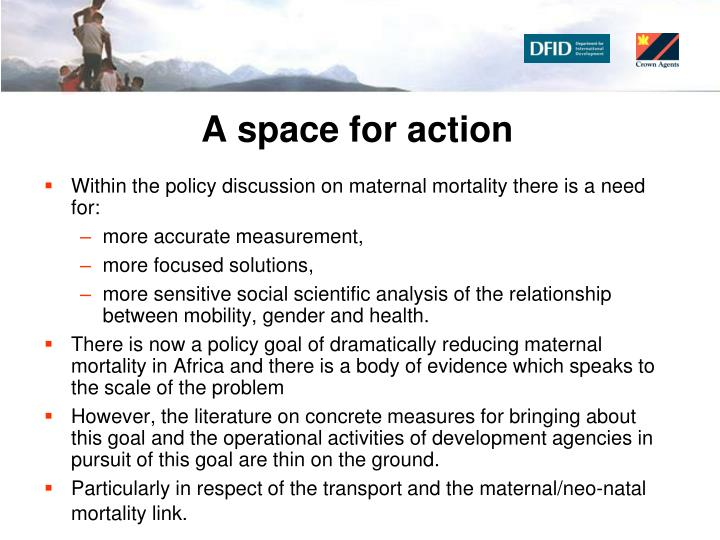 A space for action