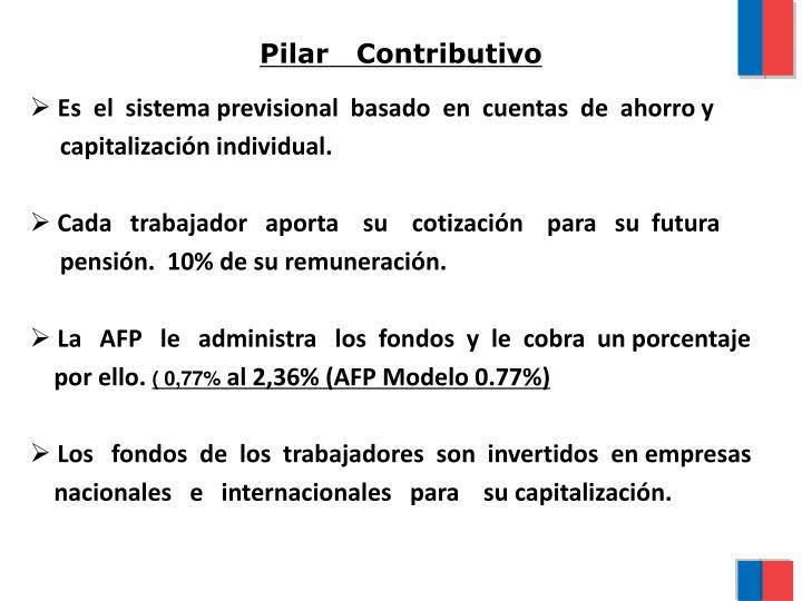 Pilar   Contributivo