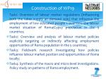 construction of wp19