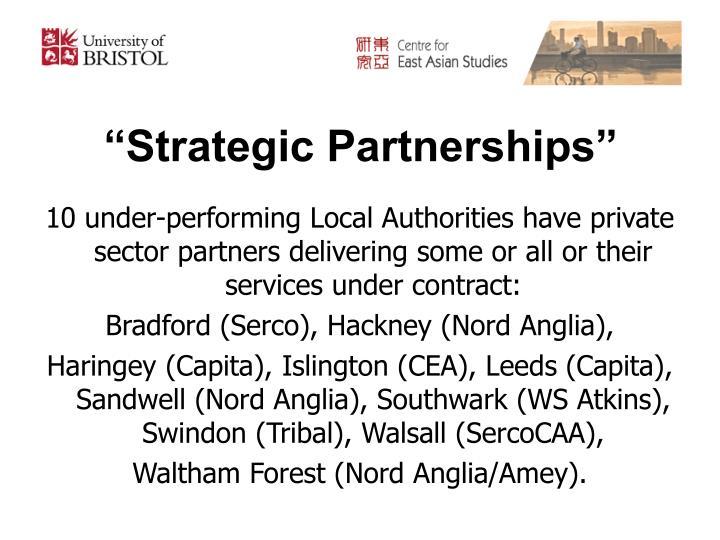 """Strategic Partnerships"""