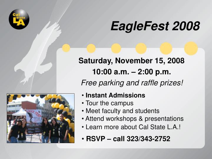 EagleFest 2008