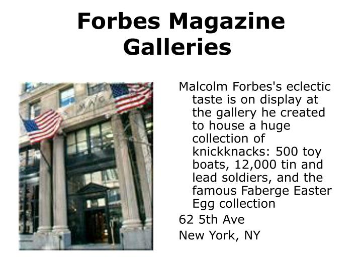 Forbes Magazine Galleries