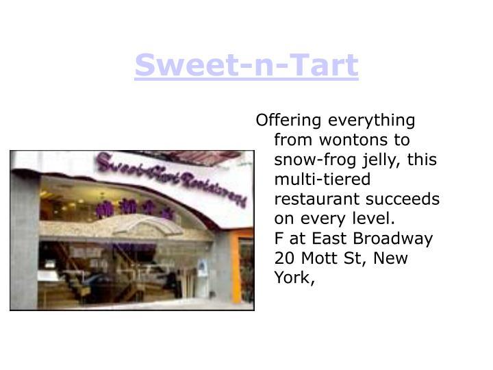 Sweet-n-Tart