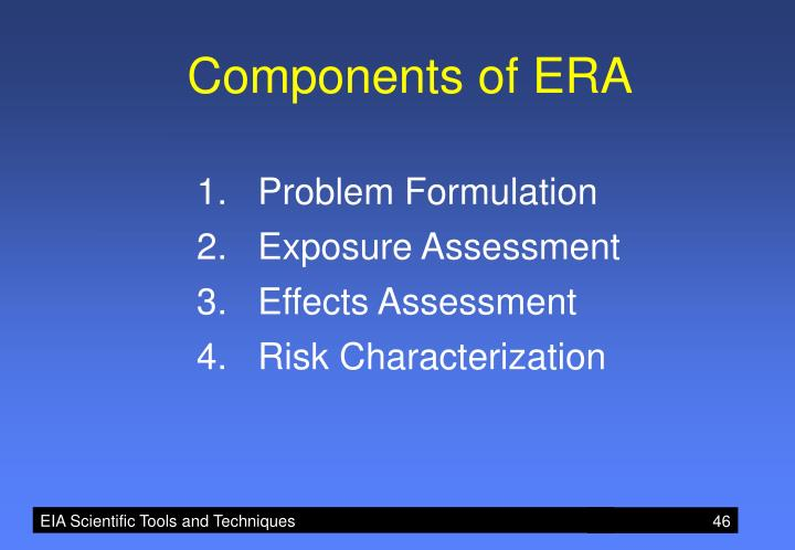 Components of ERA