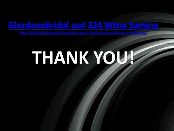 Glordanobridal usd 324 Wtoo Samina