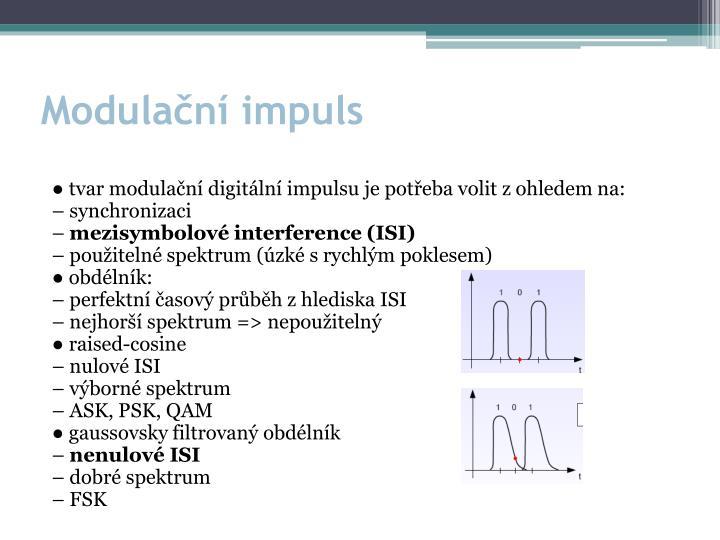 Modulační impuls