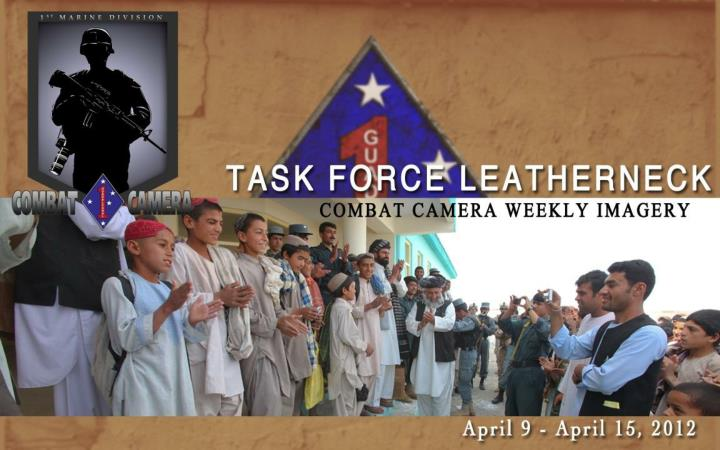 COMBAT CAMERA WEEKLY IMAGERY