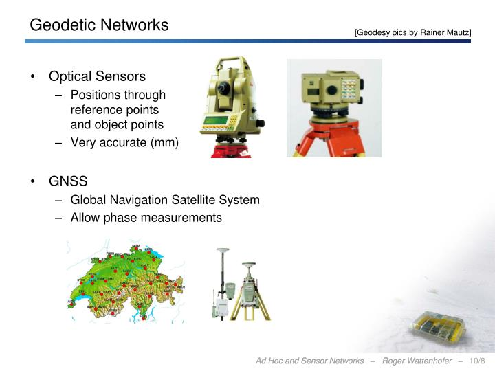Geodetic Networks