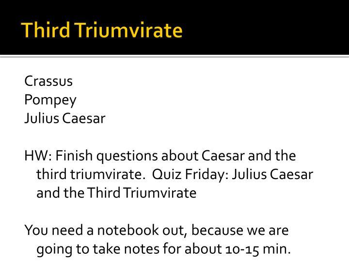Third Triumvirate