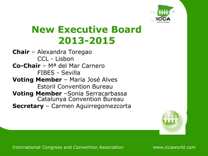 New Executive Board