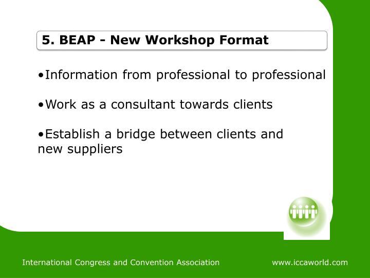 5. BEAP - New
