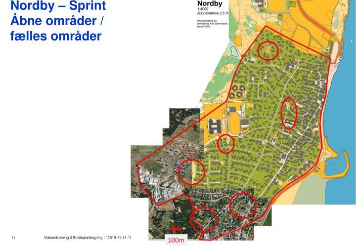 Nordby – Sprint