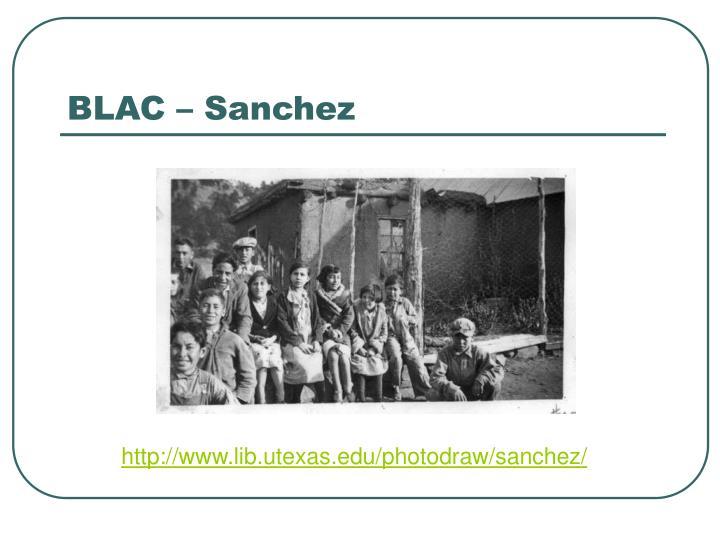 BLAC – Sanchez