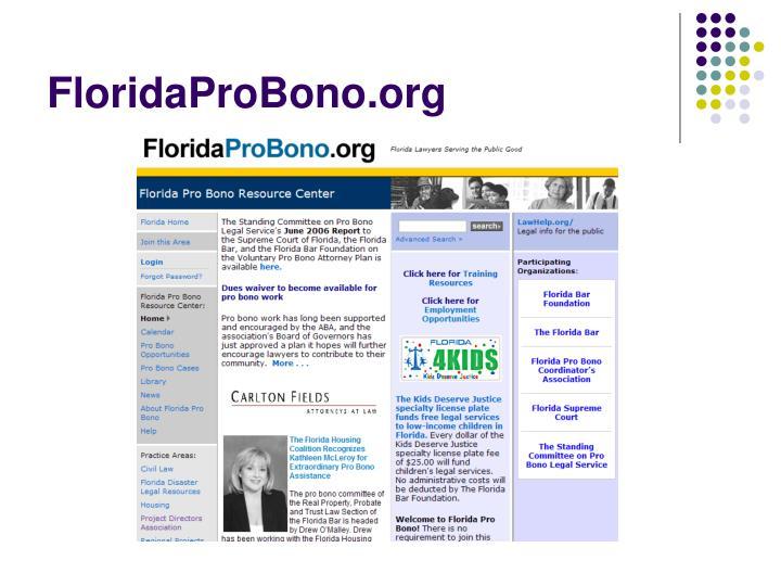 FloridaProBono.org