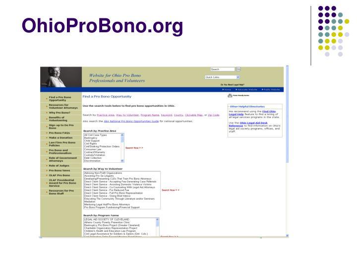 OhioProBono.org