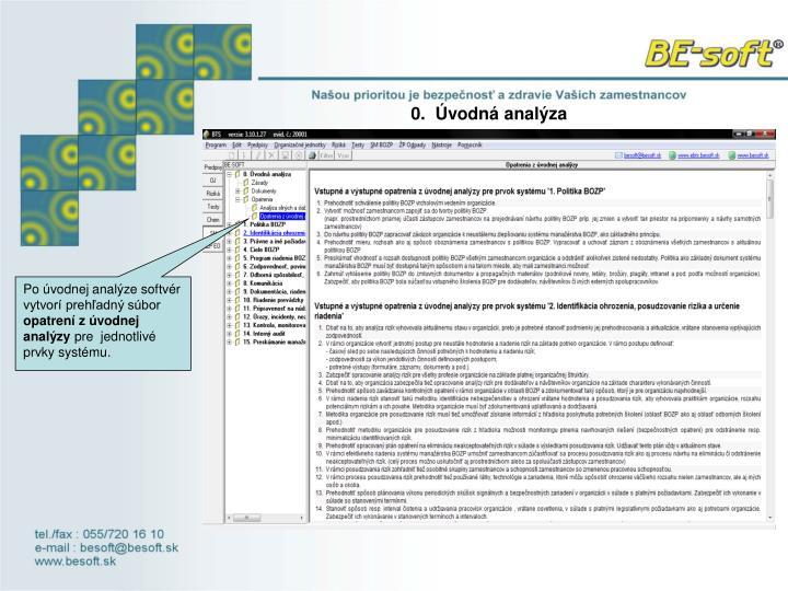0.  Úvodná analýza