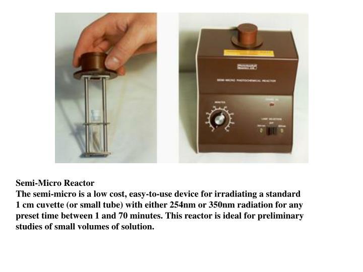 Semi-Micro Reactor