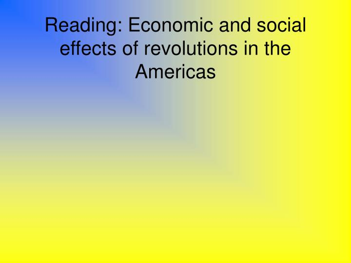 the economic and social effects of the spanish conquest of the americas The european conquest and occupation of the americas was a major change in this area of the world beginning in the 1500's by the spanish,  social and economic.