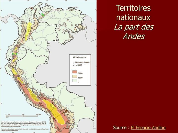 Territoires nationaux