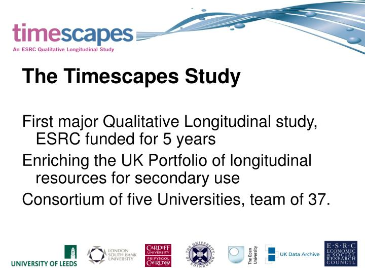 The Timescapes Study