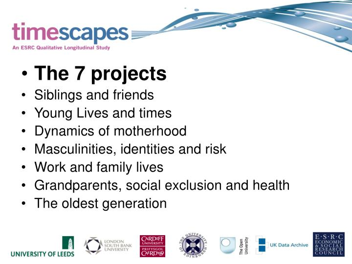 The 7 projects