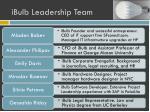ibulb leadership team