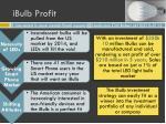 ibulb profit