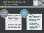 ibulb solutions to current lighting problems