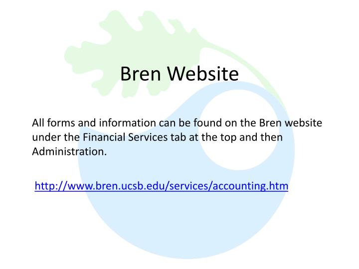 Bren Website