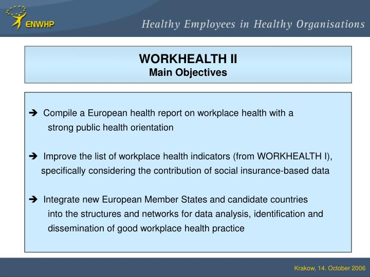 WORKHEALTH II