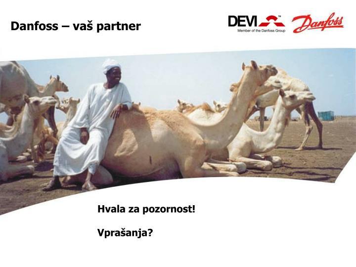 Danfoss – vaš partner