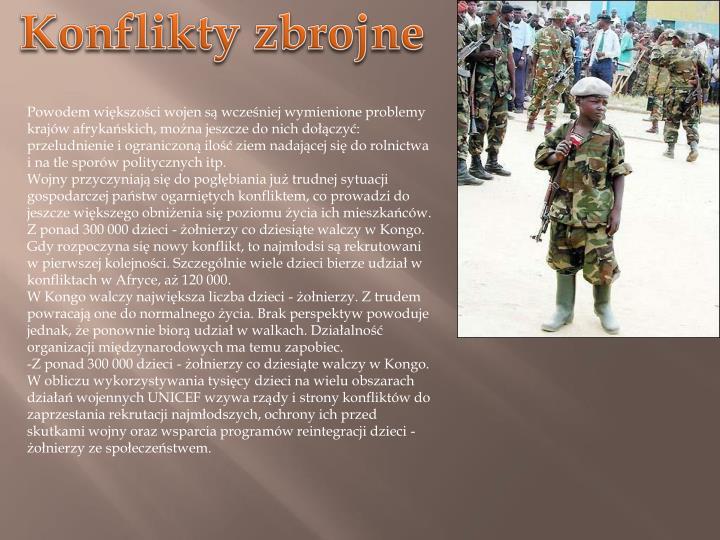 Konflikty zbrojne