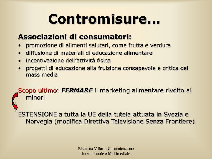 Contromisure…