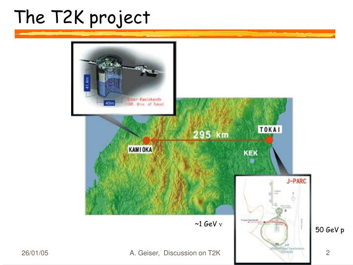 The T2K project