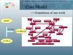 core model foundation of our work2