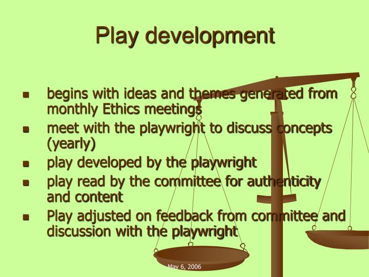 Play development
