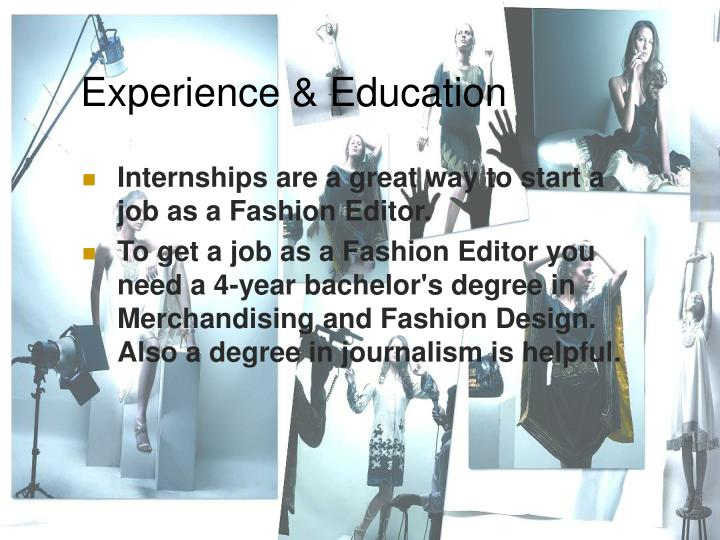 Experience & Education