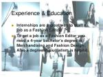 experience education