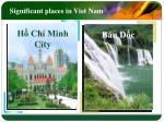significant places in viet nam