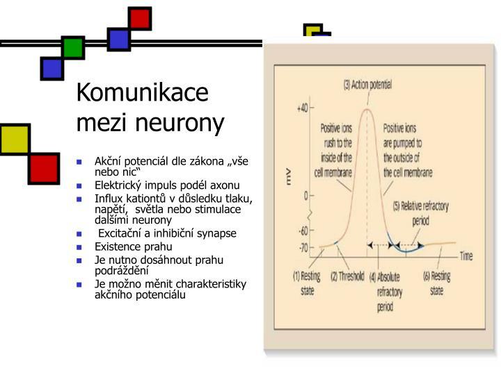 Komunikace mezi neurony