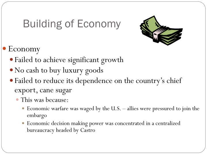 Building of Economy