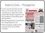 castro s cuba propaganda