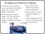 embassy and mariel incidents