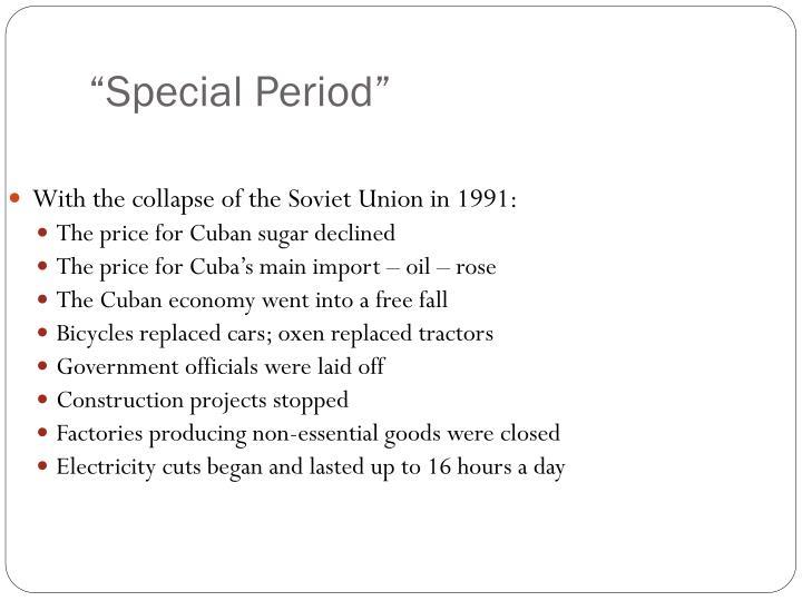 """Special Period"""