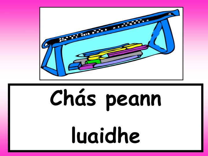 Chás peann