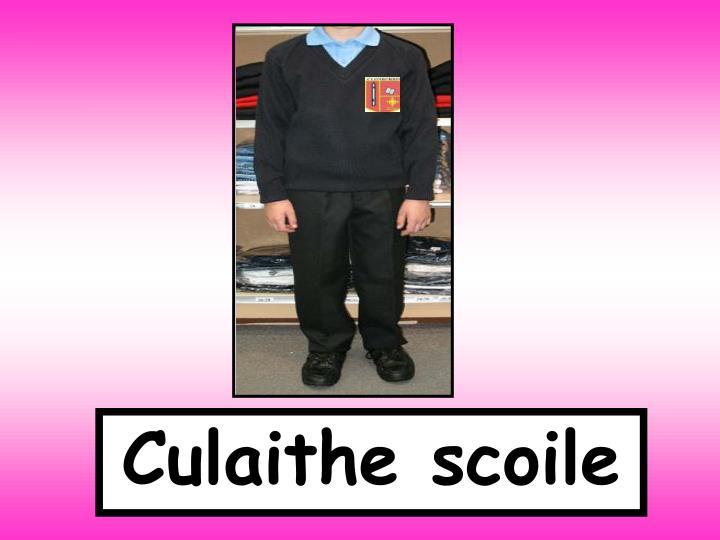 Culaithe scoile