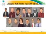 student oriented faculty and staff