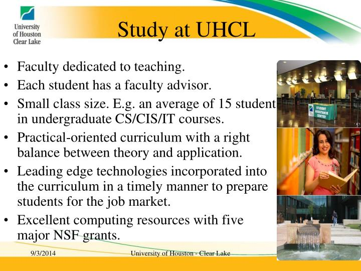 Study at UHCL