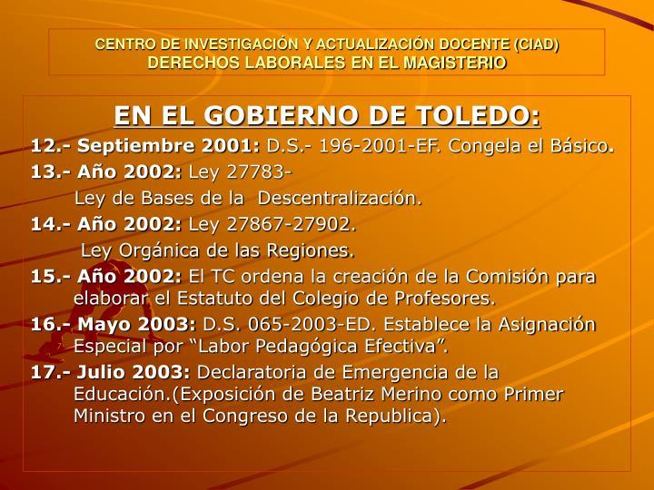 CENTRO DE INVESTIGACIÓN Y ACTUALIZACIÓN DOCENTE (CIAD)